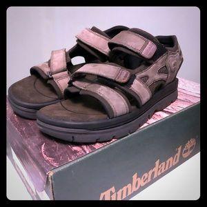 NEW Timberland Men's 3 Strap Sandal Cinder Size 7